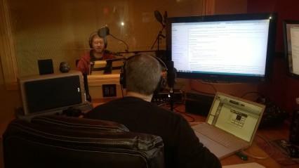 In Recording Studio